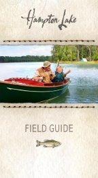 View the Hampton Lake Field Guide