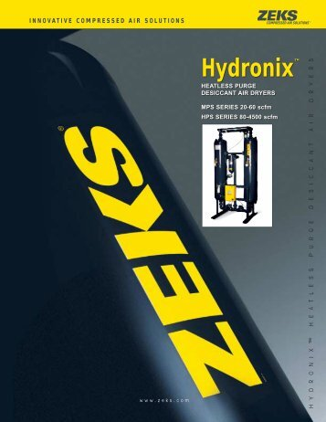Hydronix™ Hydronix™ - ZEKS Compressed Air Solutions