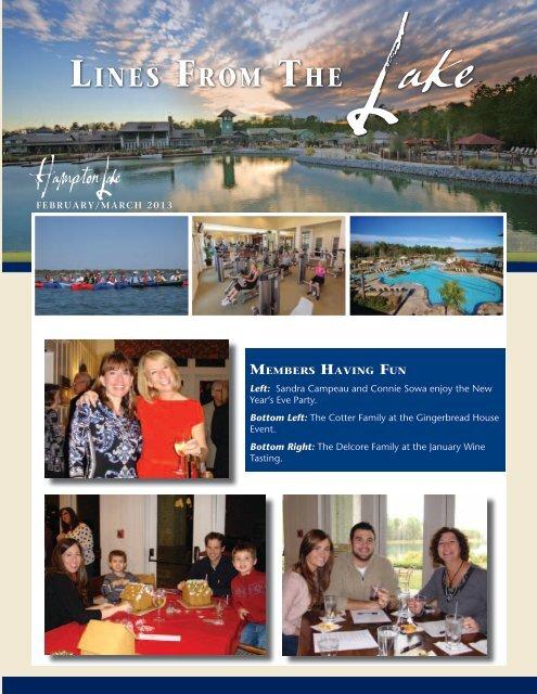 February/March Newsletter - Hampton Lake