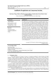 Antibiotic Prophylaxis in Caesarean Section - Pokhara University