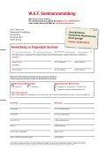 Einstellung, Versetzung, Kündigung - WAF-Seminare - Seite 2