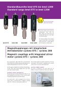 Büchi Magnetantriebe Büchi Magnetic Drives bmd 075 / bmd 300 ... - Page 3