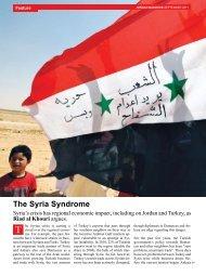 The Syria Syndrome - Jordan Business