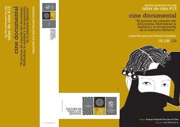 Taller de Cine Documental - Triptico inscripcion.cdr