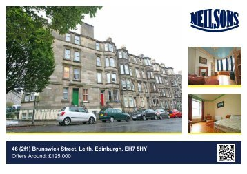 46 (2f1) Brunswick Street, Leith, Edinburgh, EH7 5HY Offers Around ...