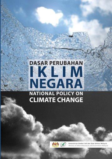 Dasar Perubahan Iklim Negara - NRE