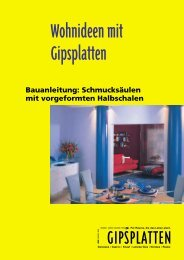 Schmucksäulen - Rigips - Rigips Gmbh