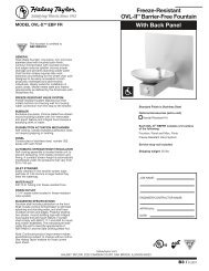 Ovrld-220//240 Mrp63Amk-3001 Elkay 30809C