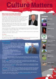 Matters Culture - Worcestershire Partnership