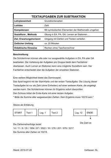 Schön Subtraktion Textaufgaben Jahr 6 Arbeitsblatt Fotos ...