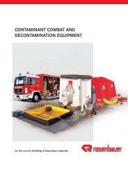 CONTAMINANT COMBAT AND DECONTAMINATION EQUIPMENT