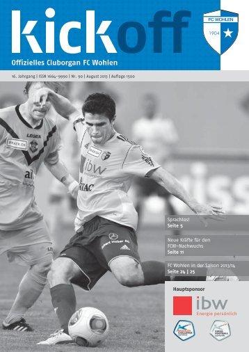 Sprachlos! Seite 5 Neue Kräfte für den FCW ... - FC Wohlen