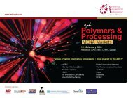 Polymers & Processing - CMT Conferences