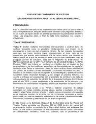 Componente de Política Proyecto Páramo Andino - Condesan