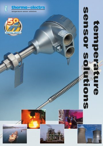 Temperature Sensor & Solutions (12.69Kb) - Thermo-Electra