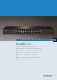 LANCOM GS-2326 - LANCOM Systems