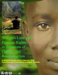 Women's Land and Property Rights in Situations of ... - UN Women