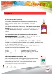 R-M NEWSLETTER Ausgabe 1 - BASF Coatings Services GmbH