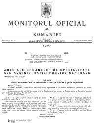 ACTE ALE ORGANELOR DE SPECIALITATE ALE ADMINISTRAfiIEI ...