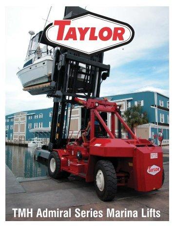 TMH Admiral Series Marina Lifts - Taylor Machine Works