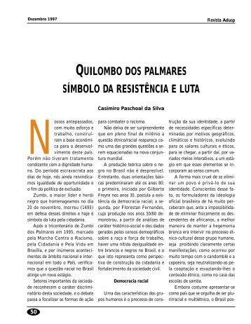 quilombo dos palmares símbolo da resistência e luta - Adusp