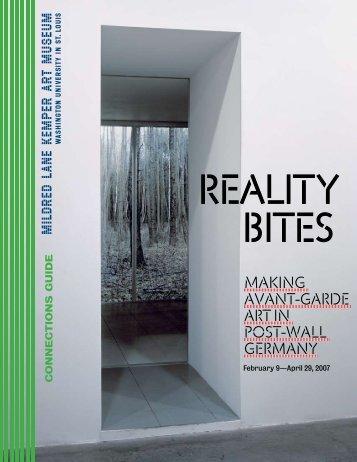 Reality Bites: Making Avant-Garde Art in Post - Kemper Art Museum