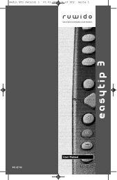 User Manual Bedin ET3 Version 1 07.03.2001 14:27 Uhr ... - Ruwido