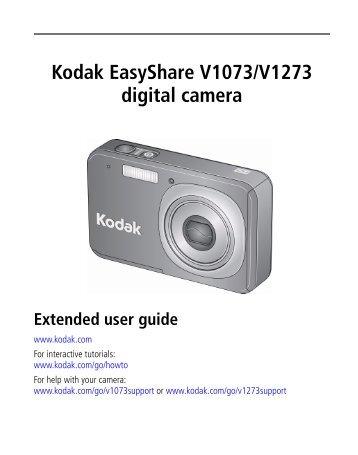 Kodak EasyShare V1073/V1273 digital camera(May be - Icecat