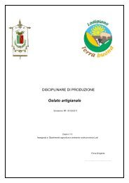 disciplinare - Provincia di Lodi