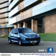Catálogo del Peugeot 206 - enCooche.com