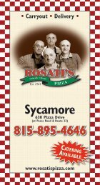 Sycamore - Rosati's Pizza