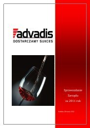 Advanced Distribution Solutions S.A. - Notowania