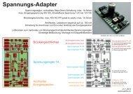 Spannungs-Adapter - von Bea und This