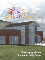 Informational Booklet - Missouri Valley College