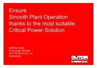 Critical Power - Schneider Electric