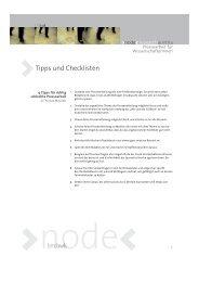 Tipps und Checklisten für Pressearbeit