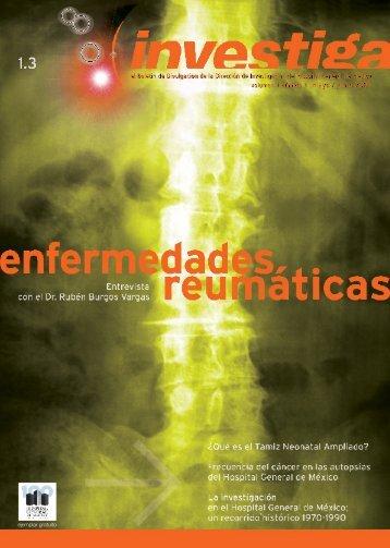 Boletín investiga 1.3 - Hospital General de México