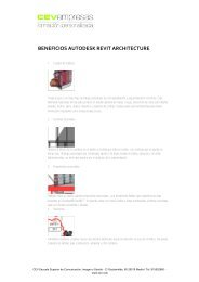 BENEFICIOS AUTODESK REVIT ARCHITECTURE - cev empresas