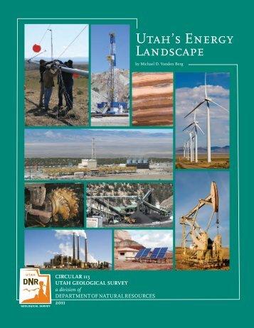 Utah's Energy Landscape - Utah Geological Survey - Utah.gov