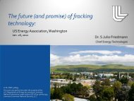The Future of Fracking Technologies - United States Energy ...