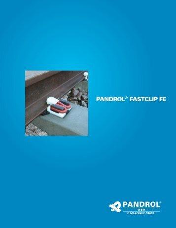 PANDROL® FASTCLIP FE - Pandrol USA