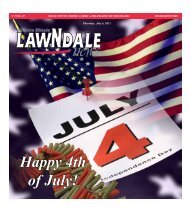 Happy 4th of July! - Lawndale News