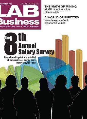 Annual Salary Survey - Lab Business