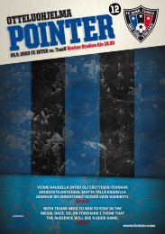 Pointer 12/09 - FC Inter