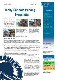 Tenby Schools Penang Newsletter - Tenby Schools Malaysia