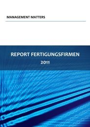 REPORT FERTIGUNGSFIRMEN 2011 - World Management Survey