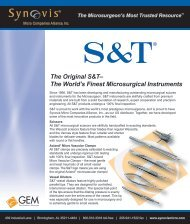 S&T sellsheet_43001B 09-10 copy - Synovis Micro Companies ...