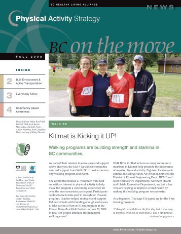 Read About New Westminster (page 3) - Physical Activity Strategy