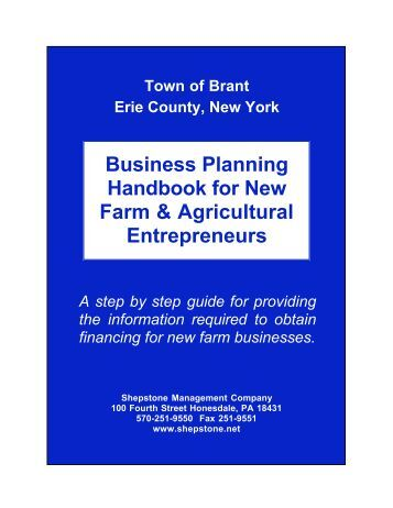 Technical Assistance for Planning Your Business
