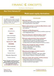 Multi-asset equity derivatives - Finance Concepts
